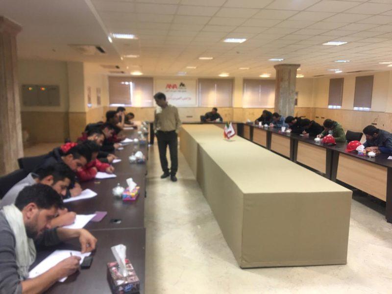 کلاس آموزش جرثقیل سقفی